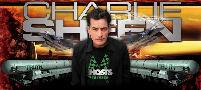 Charlie Sheen Poster